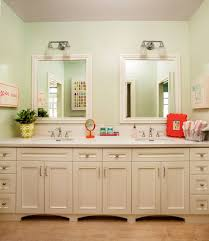 Mirror Backsplash Kitchen Tile Backsplash In Bathroom White Double Bathroom Vanity With