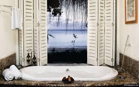 wallpapered bathrooms ideas bathroom decor categoriez vintage fixtures bathroom themes the