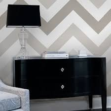 chevron wallpaper warm grey peel and stick