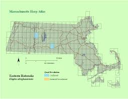 Eastern Massachusetts Map by Massachusetts North American Amphibian Program
