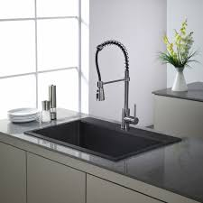 kitchen faucet kraususa com kraus single lever pull down kitchen faucet