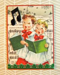 206 best christmas choir images on pinterest vintage christmas