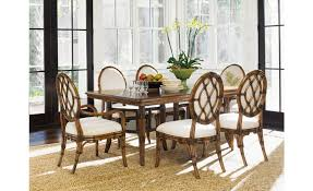 tommy bahama dining table tommy bahama home bali hai fisher island rectangular dining table
