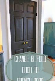 how to turn a bi fold door into a double door hometalk