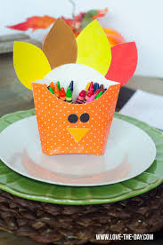 fun thanksgiving crafts and treats