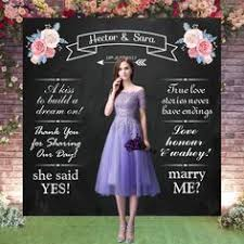 Custom Backdrops Wedding Backdrop Wedding Blackboard Wedding Photocall Wedding