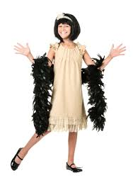 child flapper costumes kids flapper style costume dress