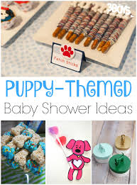 themed baby shower puppy themed baby shower ideas 3 boys and a dog 3 boys and a dog