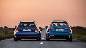 2018 audi rs3 sportback vs 2001 audi rs4 avant motor1 com photos
