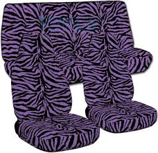 lavender jeep jeep wrangler yj tj jk 1987 2017 animal print seat covers full set