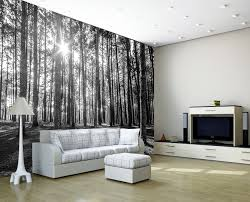 28 black and white wall mural black amp white wall murals black and white wall mural black white forest decorating wallpaper photo wall mural