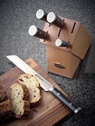 anolon advanced soft grip knife starter set black set of 3