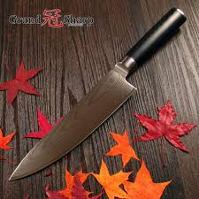 pro kitchen knives grandsharp chef knife 67 layers japanese damascus stainless steel