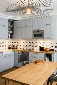 ikea luminaires cuisine cuisine gris perle et bois ikea veddinge et crédence en