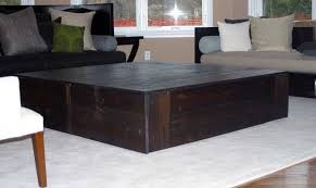 Custom Coffee Tables by Hand Crafted Square Reclaimed Coffee Table By Tim Sway