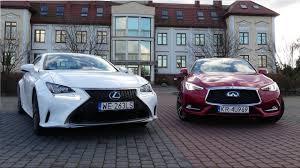 Lexus Rc 200t Vs Infiniti Q60 Test Recenzja Porównanie Review