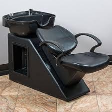 salon sink and chair amazon com bellavie salon backwash bowl shoo barber chair hair
