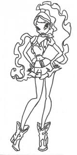 winx club coloring pages printable backgroundsfree coloring