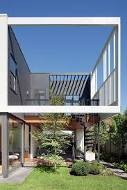 stepping house a contemporary home with a 1960s frontage home