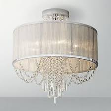 colorful shaded clear crystal chandelier 3 light or 5 light