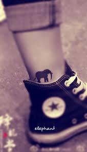 free tattoo design little elephant ankle tattoo jpg 279 488 pixels