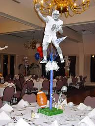 Football Centerpieces 91 Best Football Party Centerpieces Decor Mitzvah Images On
