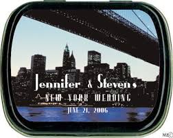 Nyc Wedding Favors by New York Themed Nyc Wedding