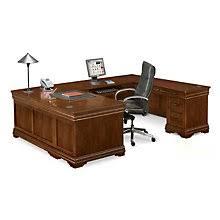 U Shaped Executive Desk Create A Home Office Area With U Shaped Desk Boshdesigns