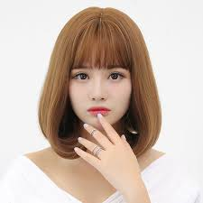 wigs short hairstyles round face usd 34 48 pear flower head wig female short hair korean round