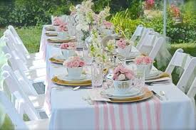 bridal luncheon garden party