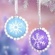 glass ombre ornaments project by decoart