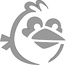free jack lantern stencils inspired angry birds krystal higgins