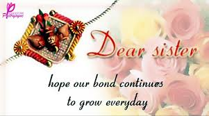 Quotes For Sister Love by Rakhi Happy Raksha Bandhan 2017 Images Sayings For Sister