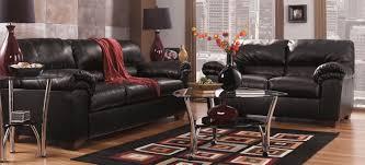 Ashley Living Room Furniture Buy Ashley Furniture 6450038 6450035 Set Commando Black Living