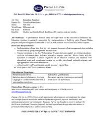 job opening education assistant paepae o he u0027eia