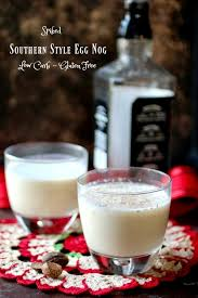 Eggnog And Southern Comfort Low Carb Egg Nog Recipe Spiked Southern Style Lowcarb Ology