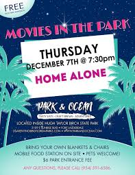 movies in the park home alone