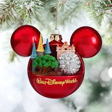mickey mouse icon ornament walt disney world shopdisney