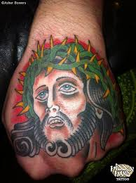 jesus hidden hand tattoo seattle wa