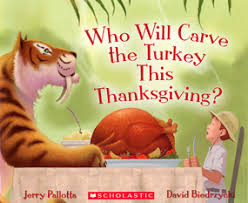 will carve the turkey this thanksgiving