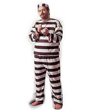 Inmate Costume Prison Stripes Clothing Shoes U0026 Accessories Ebay