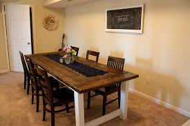 Remodelaholic Beautiful Farmhouse Dining Table - Farm table design plans