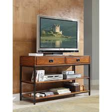 Media Console Tables by Modern Craftsman Oak Media Console Home Styles Furniture Tv