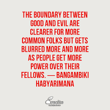 vs evil quotes by bangambiki habyarimana by bangambiki on