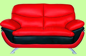 used red leather sofa interior red leather sofa