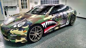 porsche wrapped terrance williams hellcat wrap demarcus lawrence bmw wrap exotic