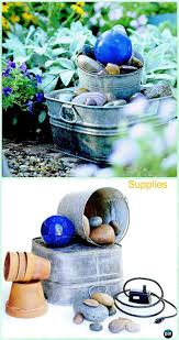 diy garden fountain landscaping ideas u0026 projects with instructions