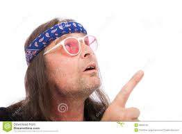 bandana hippie blue paisley bandana on a hippie stock photo image 40894135