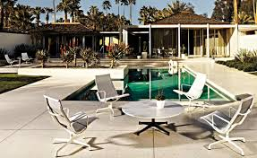 Round Patio Table by Eames Round Contract Base Outdoor Table Hivemodern Com