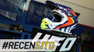 ufo motocross gear ufo plast interceptor 2 recensione casco off road youtube